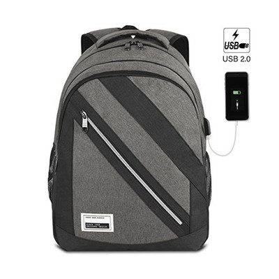 """Laptop Backpack for Men with USB Charging Port and Laptop Compartment Fits 15.6"""""""