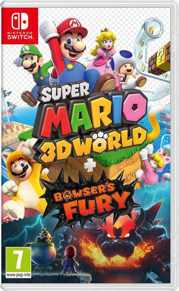 Super Mario 3D World + Bowser's Fury (Nintendo Switch) Imported Region Free