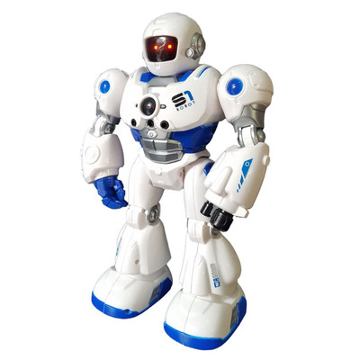 Smart Robot Infrared Control Gesture Sensor Mini RC Robot with LED Light and Music