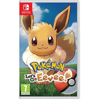 Nintendo Switch - Pokemon: Let's Go, Eevee! Video Game - Import Region Free
