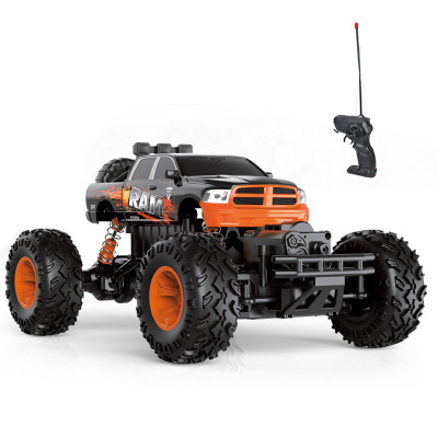 RC Rock Crawler Car 40MHz 1/16 Scale 4WD Radio Control Car Hobby With LED Lights No. 8248