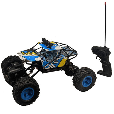 Rock Crawler Monster Car 4W 1:16/40MHz with Rechargeable Battery Full Function