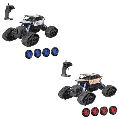 RC Storm Cross-Country Climbing Car Toy High Speed Radio Control Alloy Car With Wheel Changeable For Kids