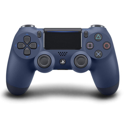 Refurbished Sony Dualshock 4 Wireless Controller for PlayStation 4 - Midnight Blue V2