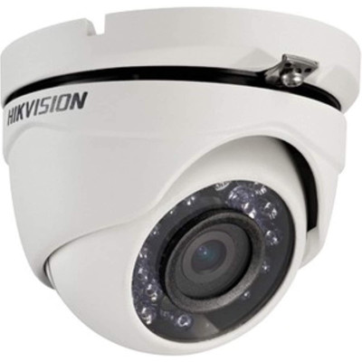 Hikvision DS-2CE56C2T-IRM Outdoor Day & Night HD720p TurboHD Turret Camera with 3.6mm Lens, 1280x720, 30fps