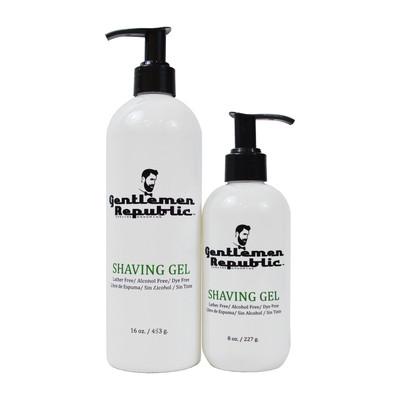 Gentlemen Republic Alcohol / Dye / Lather Free Sensitive Skin Shaving Gel