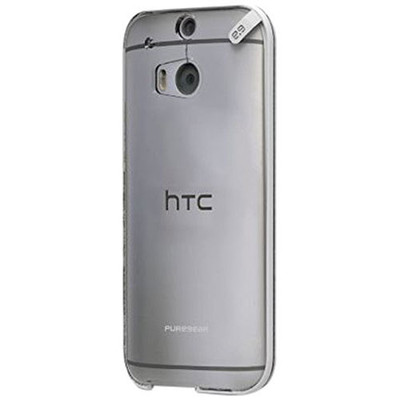 Pure Gear Slim Shell Protecive Cell Phone Case - Clear - HTC One