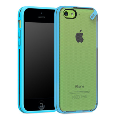 Pure Gear Slim Shell Protecive Cell Phone Case - Blue - iPhone 5C