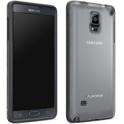 Pure Gear Slim Shell Protecive Cell Phone Case-Black- Samsung Galaxy Note 4