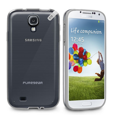 Pure Gear Slim Shell Protecive Cell Phone Case - Clear - Samsung Galaxy S4
