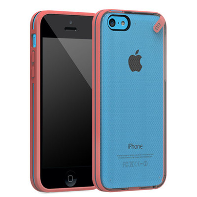 Pure Gear Slim Shell Protecive Cell Phone Case - Pink - iPhone 5C