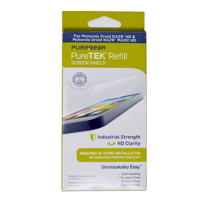 PureGear PureTEK Screen Protector Refill - Motorola Droid Razr HD and MAXX HD