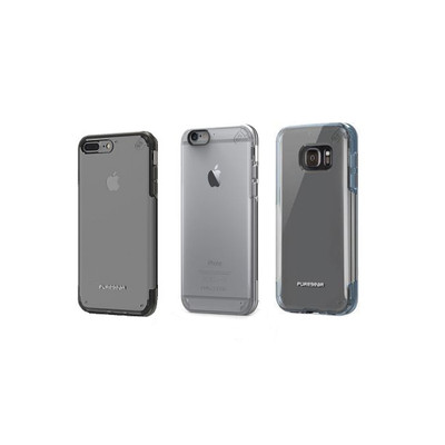 PureGear Slim Shell PRO Snap On AirTek Suspension Clear + Slim + Protective Case
