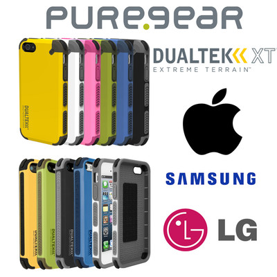 PureGear DualTek Impact Protection Cell Phone Case - Apple iPhone, Samsung, LG