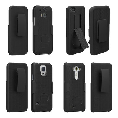 PureGear Protective Holster Kickstand Cell Phone Case