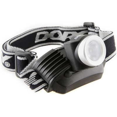 Dorcy 120 Lumen LED Focusing Lightweight High Beam Headlamp w/ Strobe - 41-2096