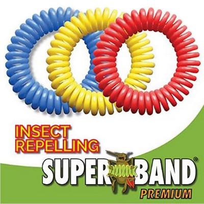 Evergreen Superband Premium 250Hr Non-Toxic Mosquito Repelling Wristband