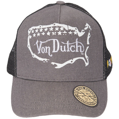 Von Dutch Unisex Trucker Style Hat - One Size