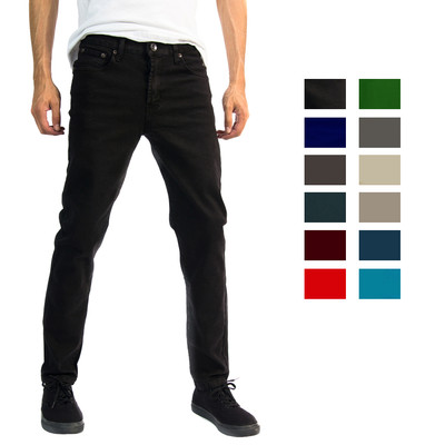 Alta Designer Fashion Mens Slim Fit Skinny Denim Jeans - Multiple Colors & Sizes