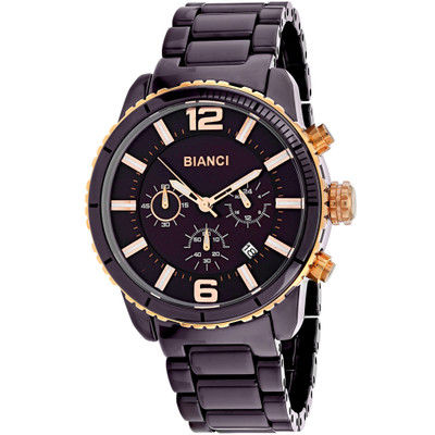 Roberto Bianci Men's Amadeo Watch Swiss Quartz Sapphire Crystal RB58753