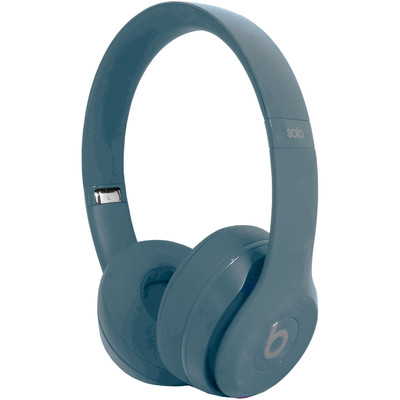 Beats by Dre Solo 2 Compact Foldable Lightweight Headphones - Silver - Open Box