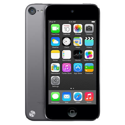 Refurbished Apple iPod Touch 5th Generation Black & Silver (16 GB) 643LL/A - Factory Refurb