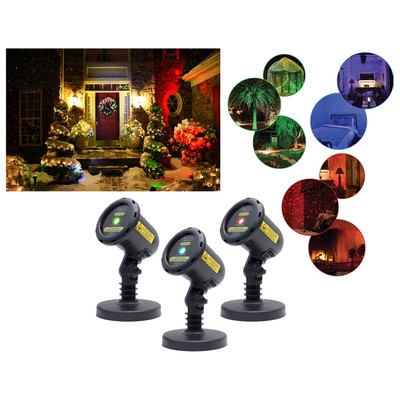 BlissLights Holiday Christmas Outdoor Indoor Decoration Smart Spright Firefly Motion LED Laser Lights with Timer