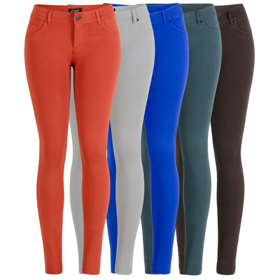 La Bijou 611S Women's Juniors Ultra Stretch Skinny Pants Jeggings