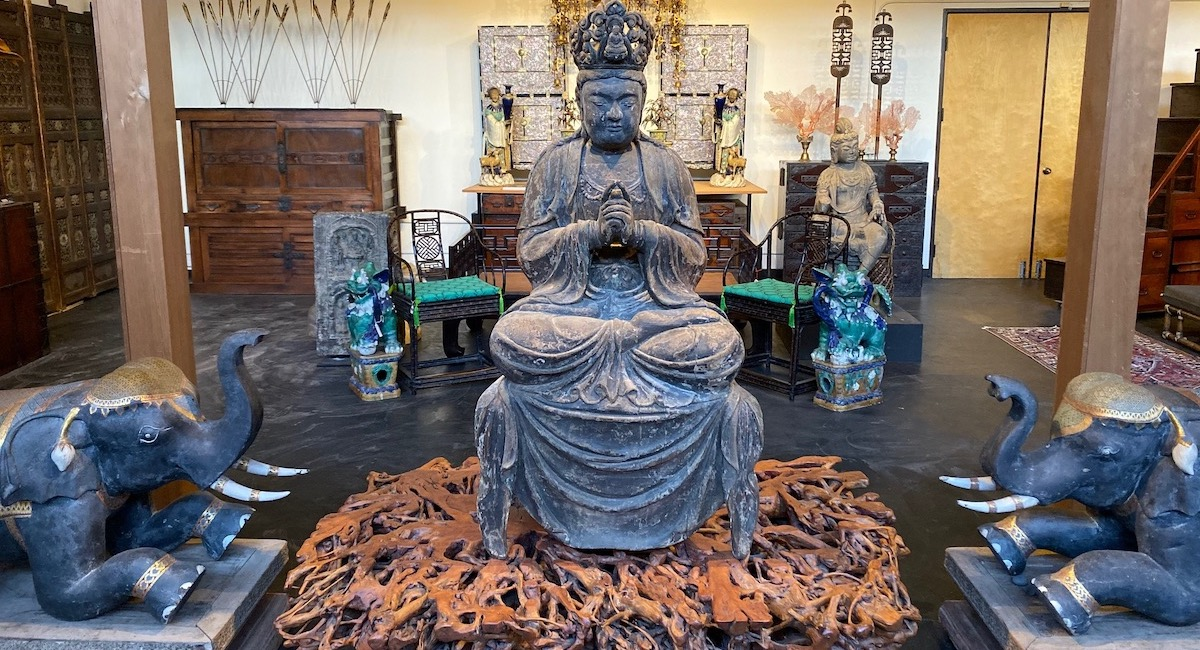Asian Art and Antiques in California