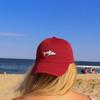 Red Shark Hat