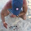 Blue Sea Turtle Hat