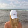 White Flag Shark Hat