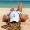 White Sea Turtle Hat