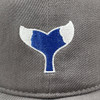 Gray RTS Whale Tail Hat