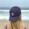 Navy Flag Sea Turtle Hat