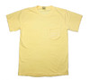 Pocketed Pineapple Yellow Dolphin Hibiscus Flowers Short Sleeve