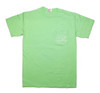 Pocketed Lime Clownfish Bubbles Short Sleeve