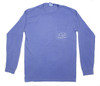 Pocketed Atlantic Blue Clownfish Bubbles Long Sleeve