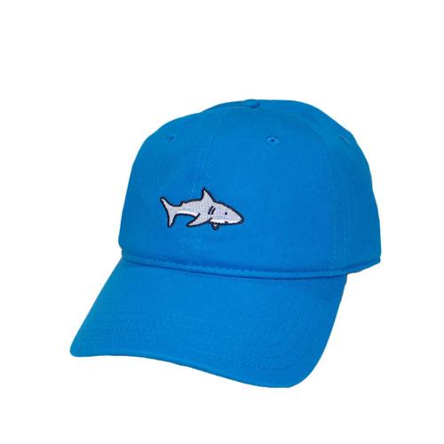 Coral Blue Shark Hat