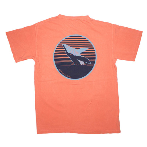 Pocketed Salmon Whale Short Sleeve