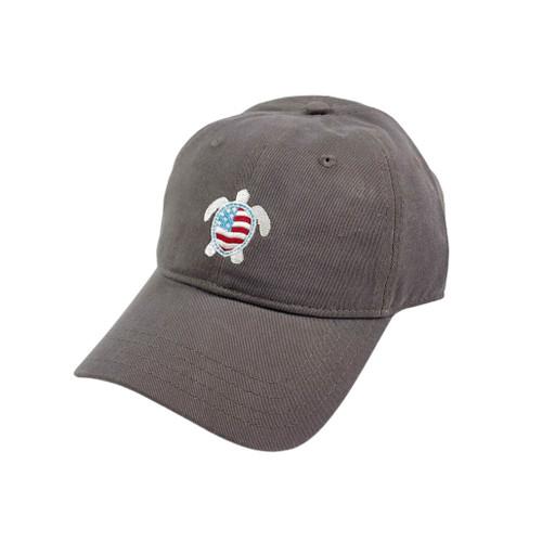 Gray Flag Sea Turtle Hat