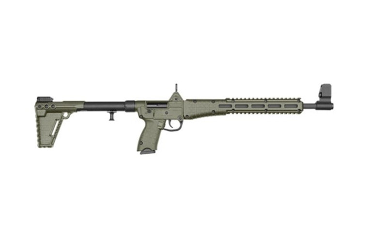 Kel-Tec_Sub2 9mm Glock Green