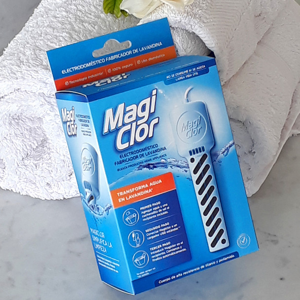 Magiclor: Mini Appliance that Produces Oxygen Bleach (10 W, Cable Included)