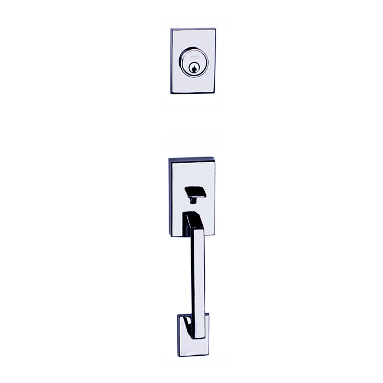 Chrome Tiburon Front Door Entry Handleset By Better Home Products Shop Front Door Handlesets And Home Hardware