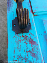 Distressing  A Wood Entry Door