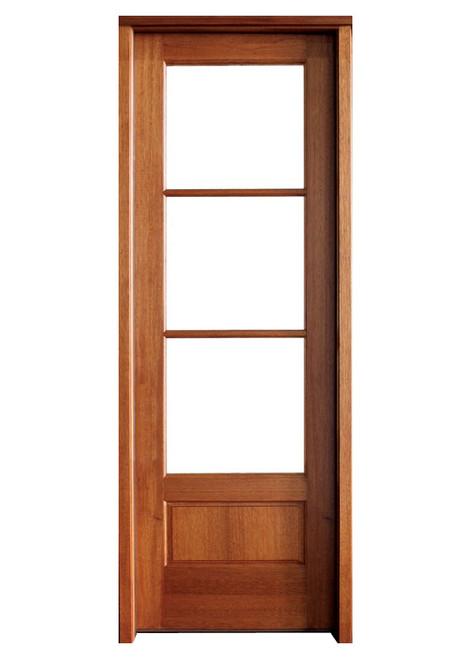 Mahogany Alexandria TDL 3LT 8/0 Single Door