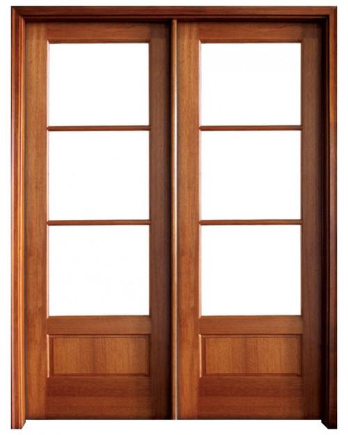 Mahogany Alexandria TDL 3LT 8/0 Double Door