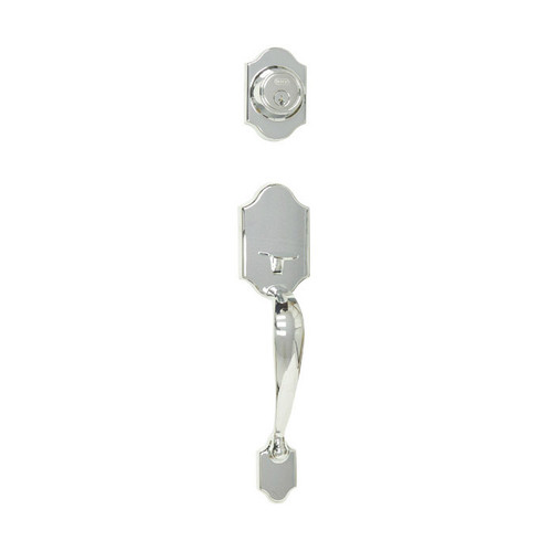 Chrome Ocean Beach Handleset by Better Home Products and sold by www.completehomehardware.com.