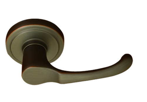 Oil Rubbed Bronze Diamond Heights Door Lever- Better Home Products