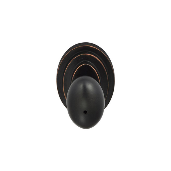 Dark Bronze Nob Hill Privacy Door Knob